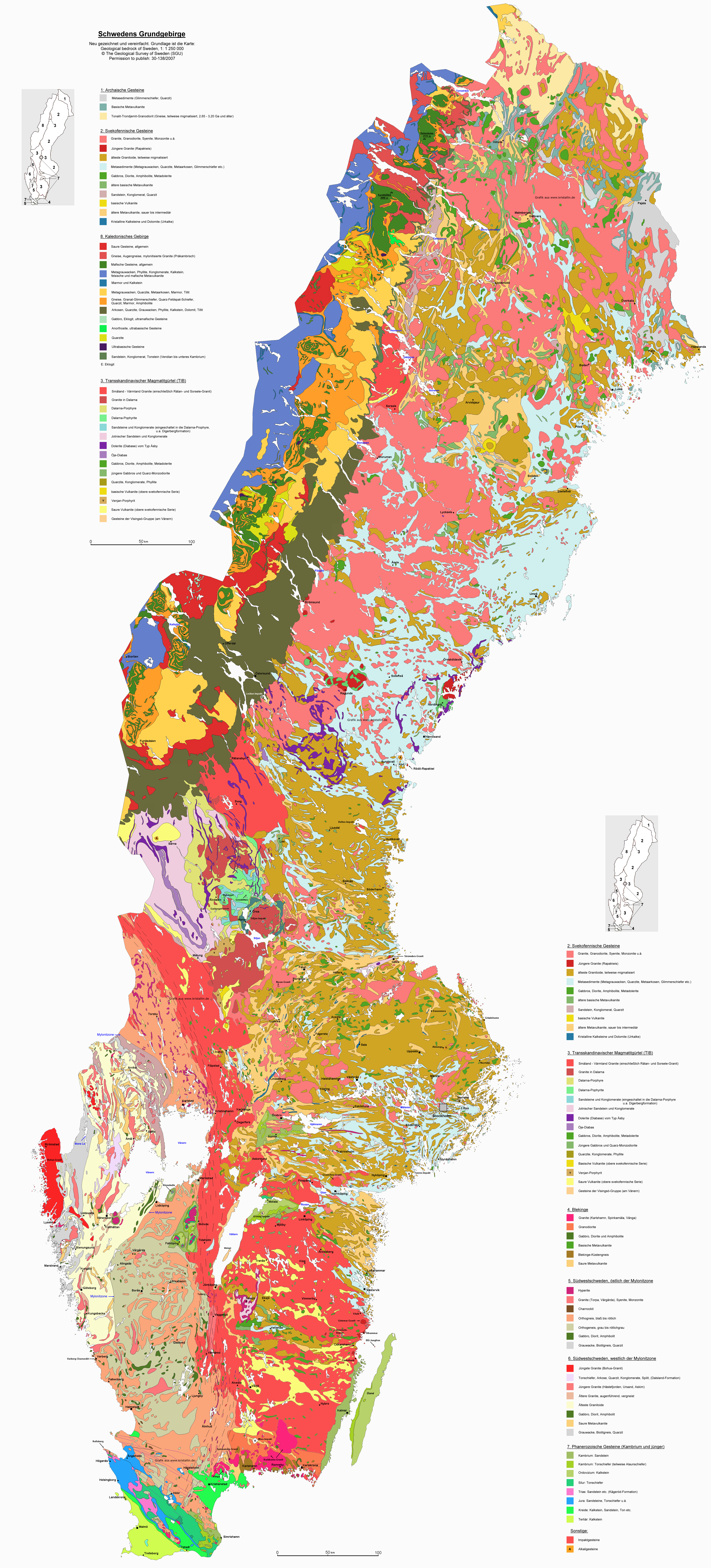 Impressum - Portugal geology map